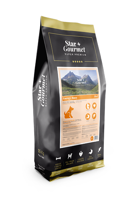 pienso STAR+ ENERGY MEAT para perros