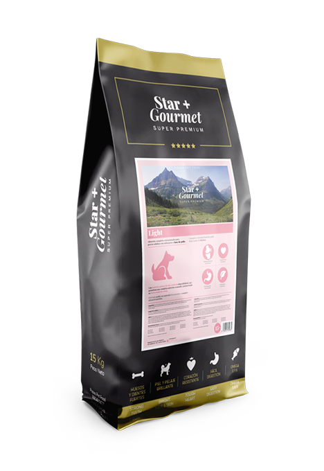 pienso STAR+ GOURMET Light para perros