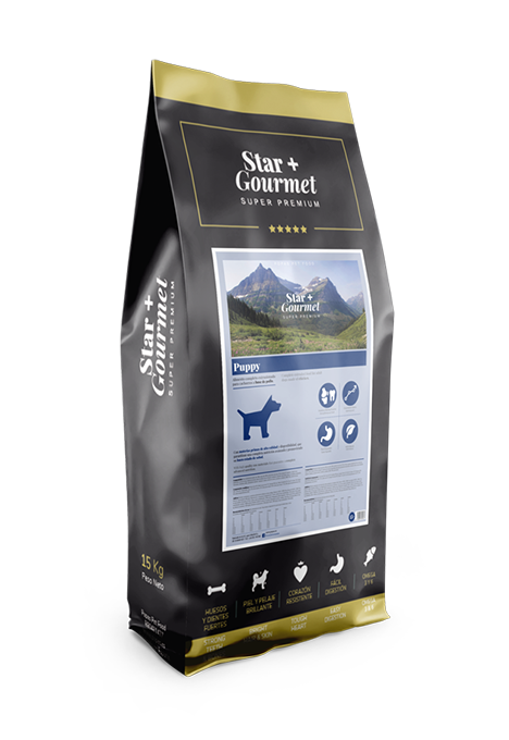 pienso STAR+ PUPPY MEAT&FISH para perros
