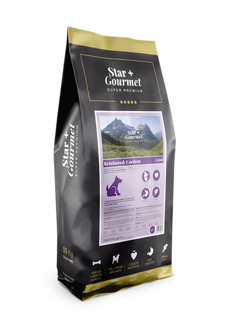 pienso STAR+ REINFORCED: LAMB&RICE para perros