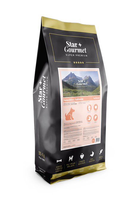 pienso STAR+ GOURMET SENSITIVE para perros